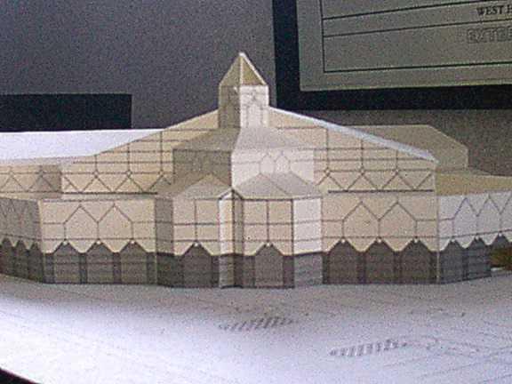 Model of WHCC chapel